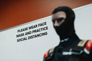 face mask social distancing covid